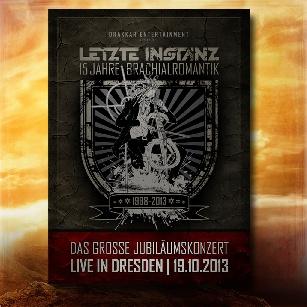 """DVD """"15 Jahre Brachialromantik - Live in Dresden"""""""