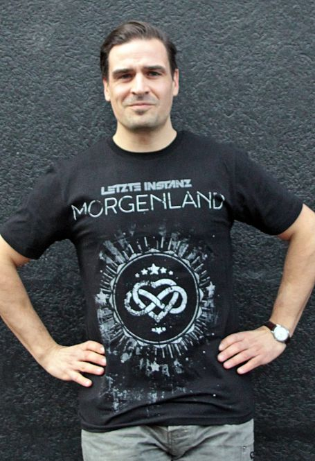 "T-Shirt ""Morgenland s/w"""