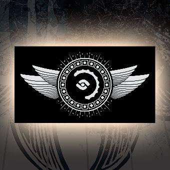 "Aufkleber ""Logo 03"""